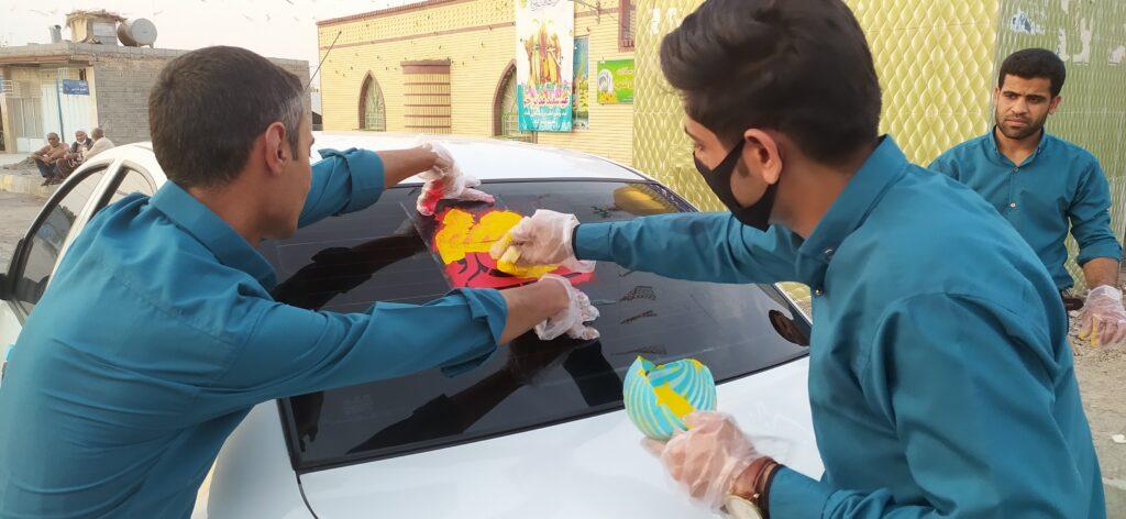 برگزاری کاروان شادی بمناسب عید غدیرخم به همراه اجرای گروه بچه های آسمانی روستای گورزانگ