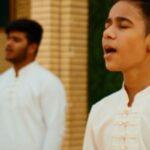 اجرای سرود ای صفای قلب زام -اجرای گروه سرود بچه های آسمانی – در برنامه تلویزیونی (به تو از دور سلام )